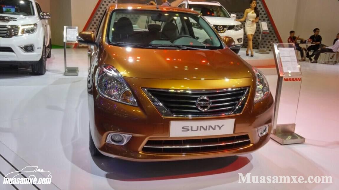 Đánh giá xe Nissan Sunny 2017 về thiết kế nội ngoại thất và giá bán