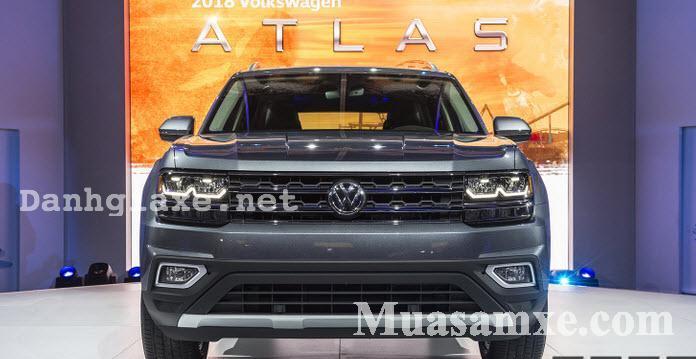 Đánh giá Volkswagen Atlas 2018 về ưu nhược điểm và giá bán chính thức