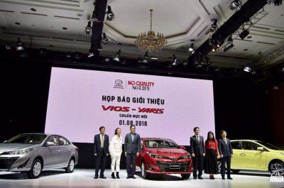Đánh giá Toyota Vios Facelift 2018 vừa ra mắt