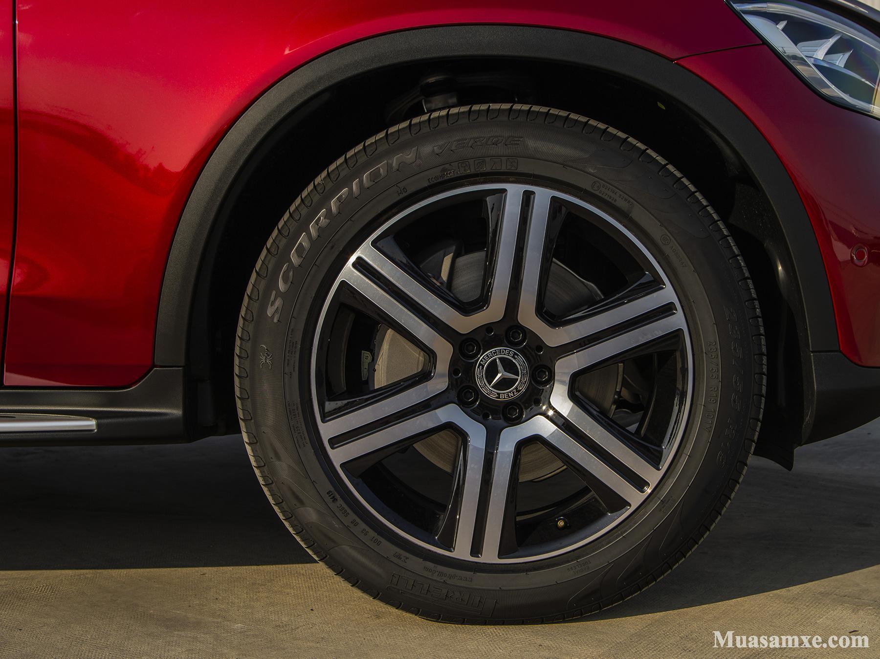 Bộ mâm mới đầy sức mạnh của Mercedes GLC 200 4MATIC